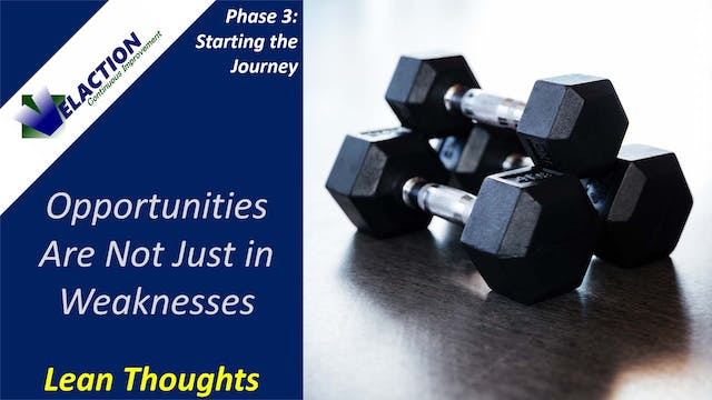 Find Opportunities in Strengths as We...