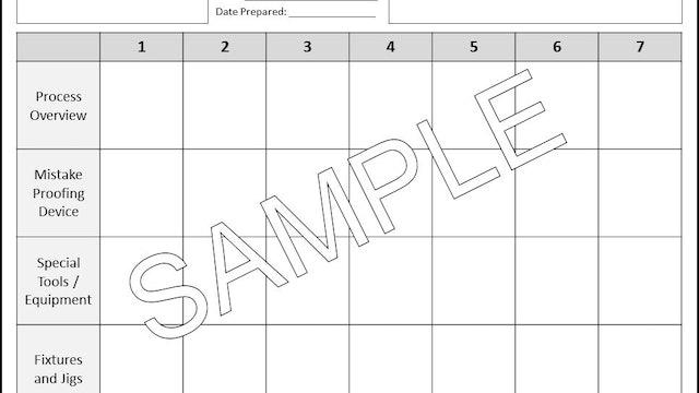 7 Ways Comparison Form (Forms & Tools)