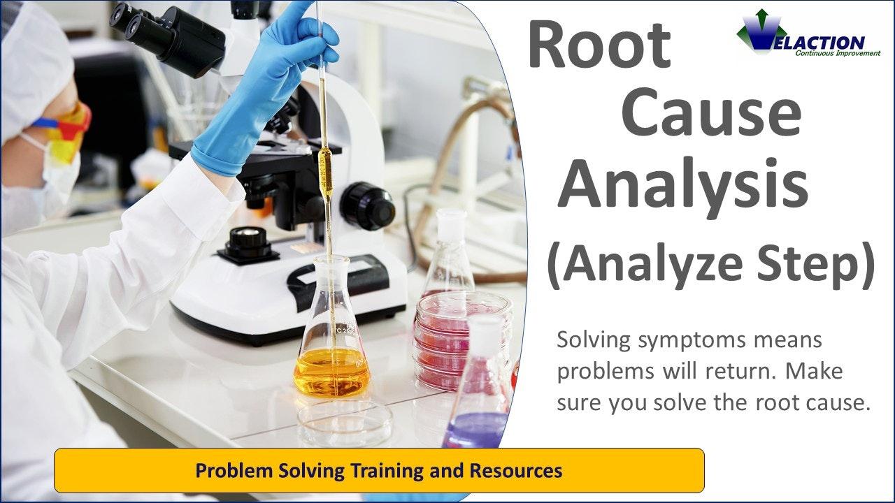Root Cause Analysis (Analyze)