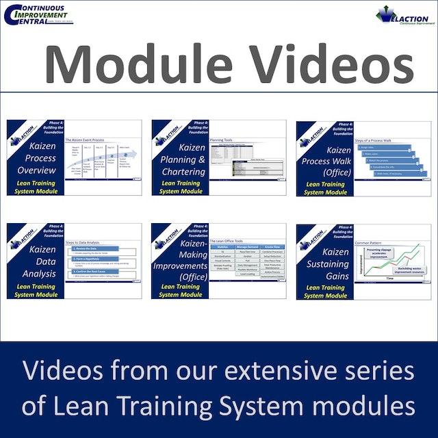 Kaizen Process LTS Module Videos