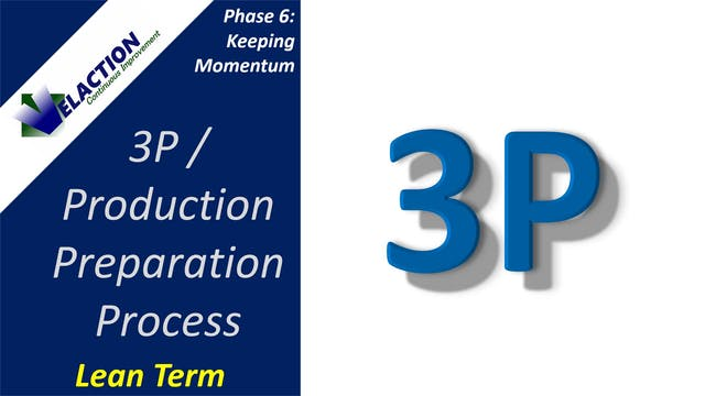 3P / Production Preparation Process
