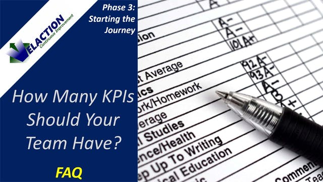 How Many KPIs Should We Have? (FAQ)