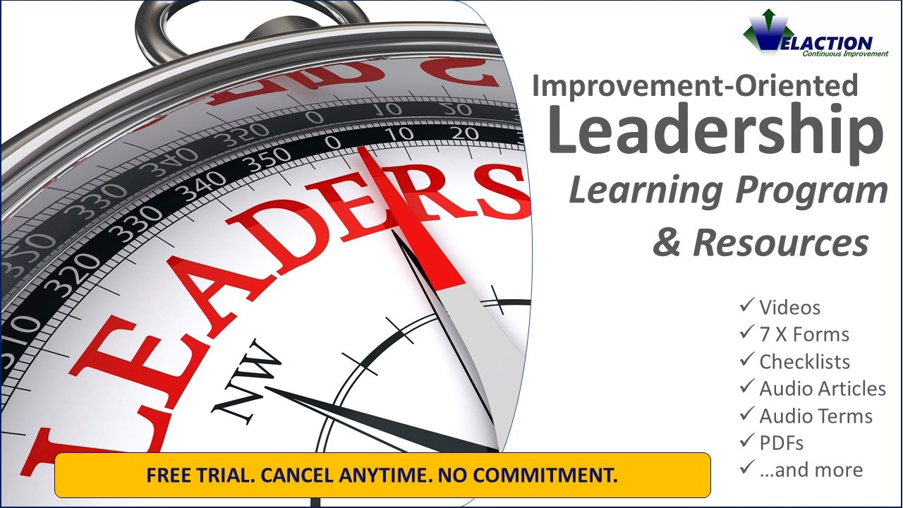 Improvement-Oriented Leadership