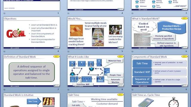 Standard Work Overview Slideshow (Download)