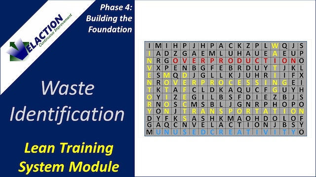 Waste Identification (Training Module Video)