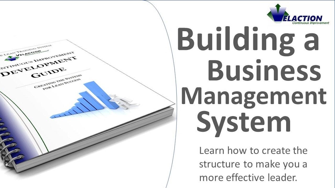 Building a Business Management System