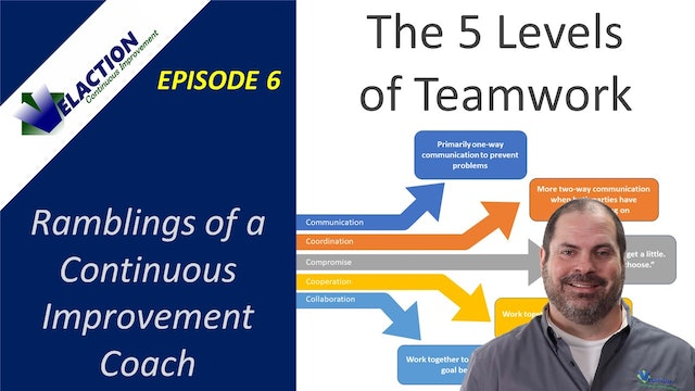 5 Levels of Teamwork (Ramblings of a CI Coach, Episode 6)