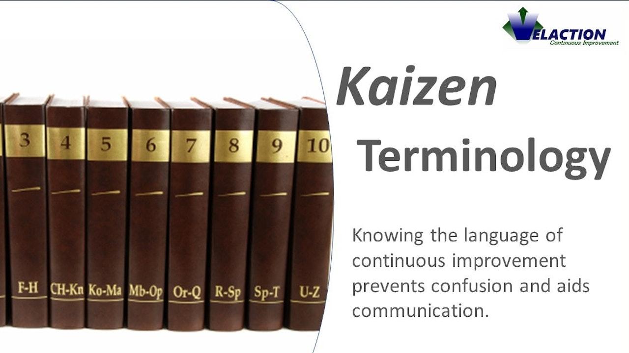 Kaizen Terminology