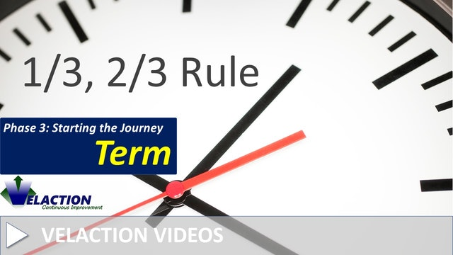 1/3, 2/3 Rule