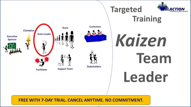 Kaizen Leader (Targeted Training)