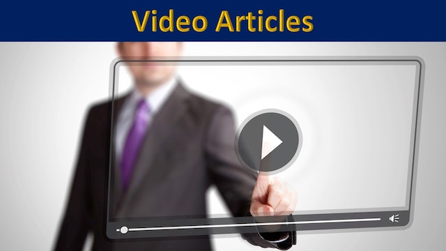 Video Articles