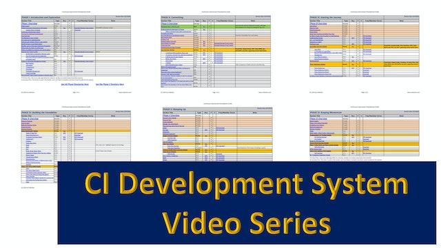 CI Development System Phase Videos