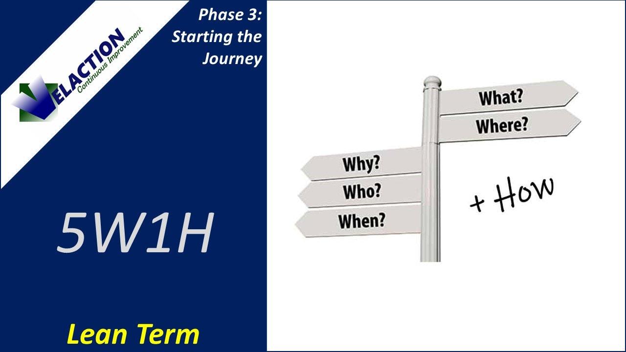 5W1H (Improvement Term)