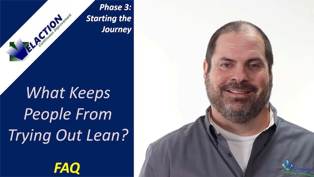 What keeps companies from trying out Lean? (FAQ)