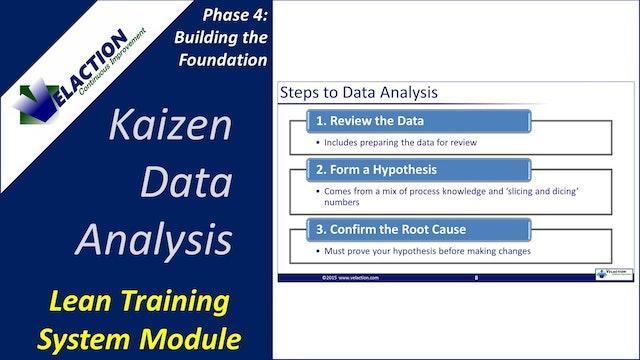 Kaizen Data Analysis (Training Module Video)