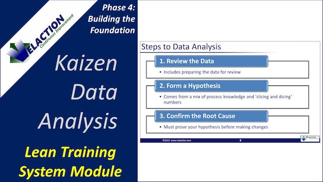 Kaizen Data Analysis (Training Module...