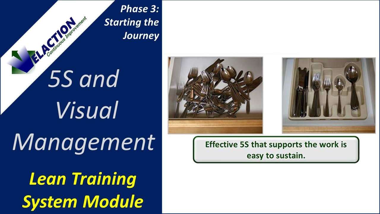 5S and Visual Management (Training Module Video)