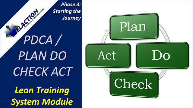 PDCA Overview (Training Module Video)