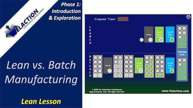 Lean Manufacturing Overview: Lean vs. Batch Manufacturing (Lean Lesson)