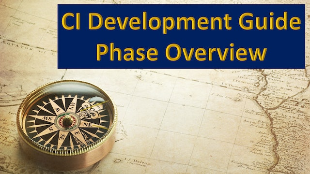 Continuous Improvement Development Guide Phases