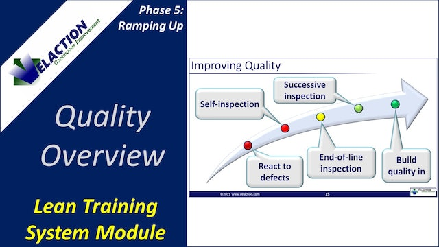 Quality Overview (Training Module Video)