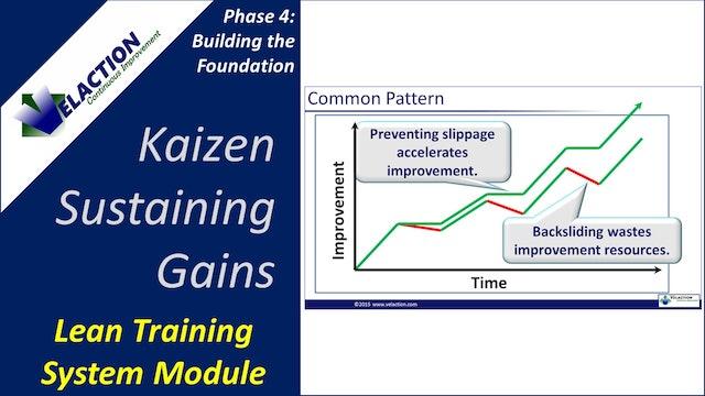 Kaizen - Sustaining Gains (Training Module Video)