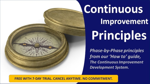 Continuous Improvement Principles