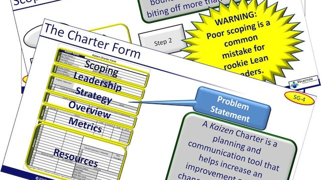 Kaizen Planning and Chartering Training Materials (PPT, SG)