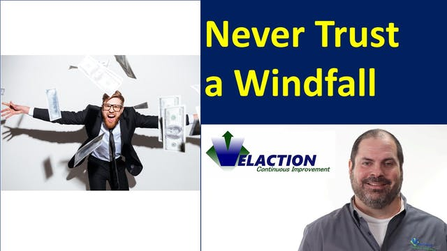Never Trust a Windfall: A Lesson on D...