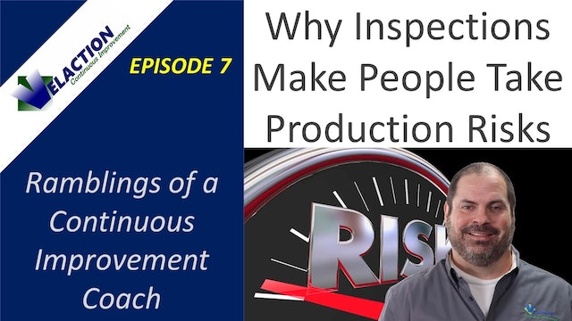 Why Inspections Make People Take Production Risks