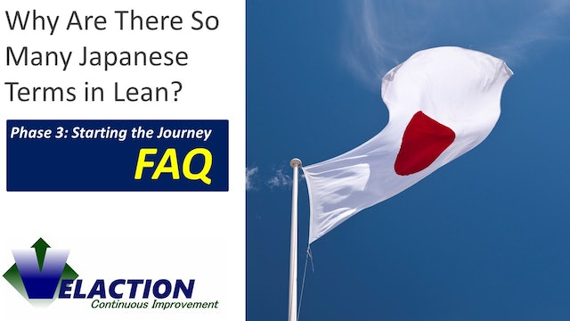 Why are there so many Japanese terms in Lean? (FAQ)
