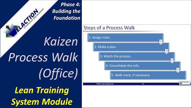 Kaizen Process Walk in the Office (Training Module Video)