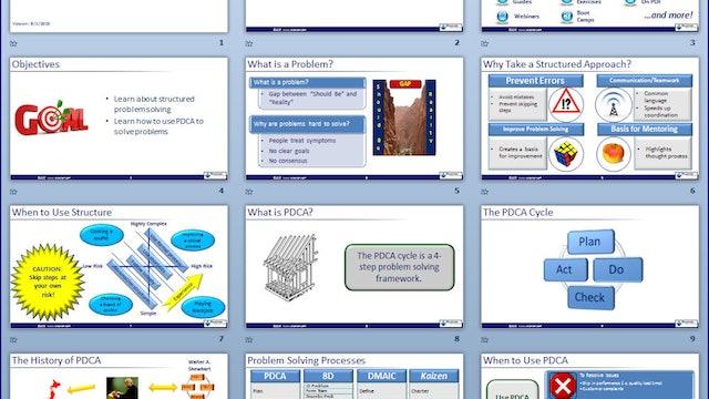 PDCA Slideshow (Download)