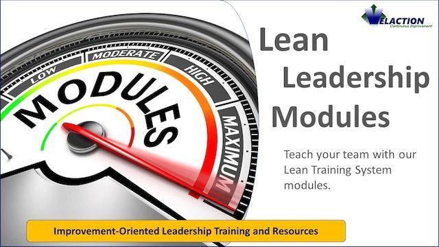 Lean Leadership Modules