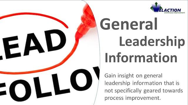 General Leadership Information