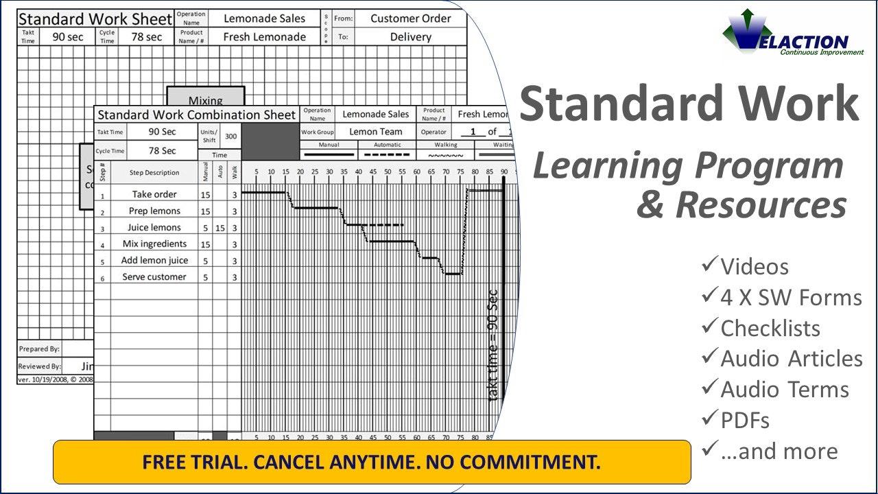 Standard Work Resources