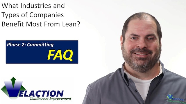 What Industries and Types of Companies Benefit From Lean?