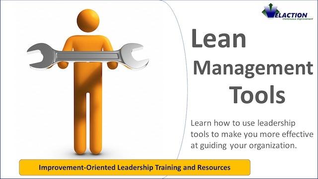 Lean Management Tools