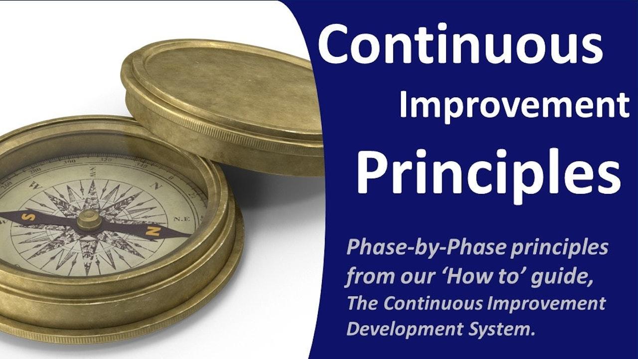 Continuous Improvement Principles