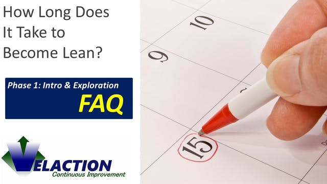 How long does it take to become Lean?