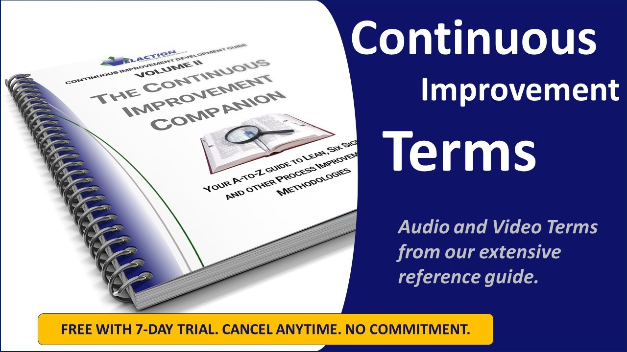 Continuous Improvement Terms