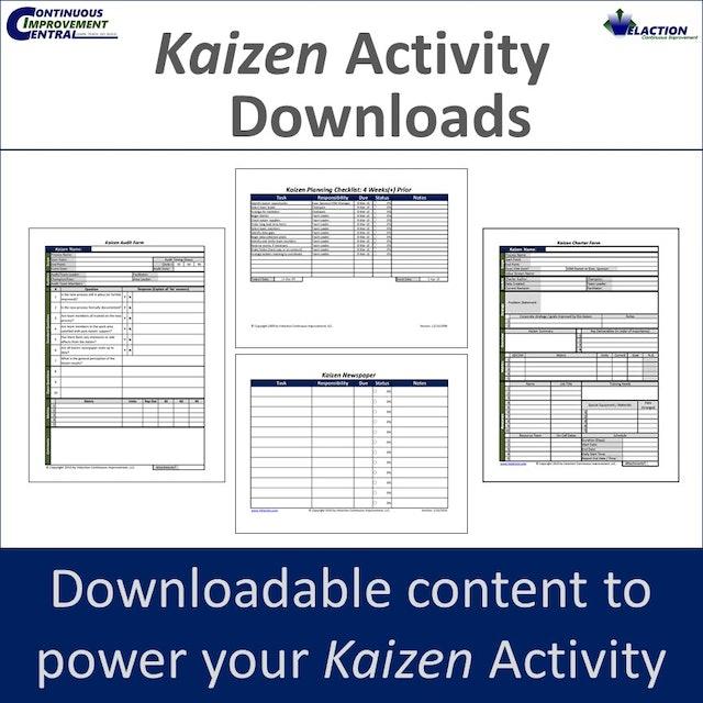 Kaizen Activity Downloads