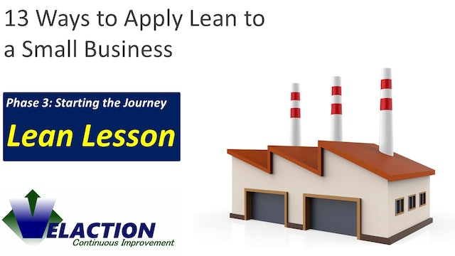 13 Ways to Apply Lean Principles to a Small Business