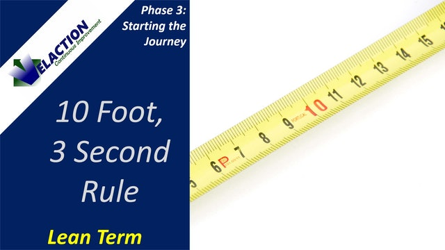 10-Foot, 3-Second Rule