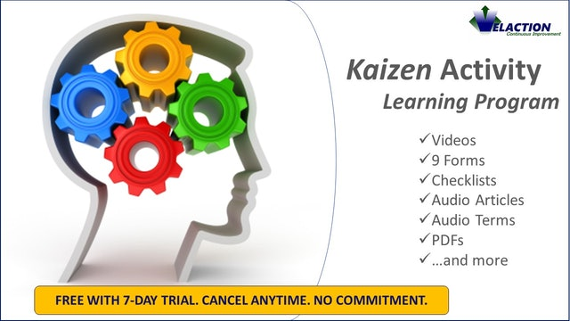 Kaizen Resources (Kaizen Forms Included)
