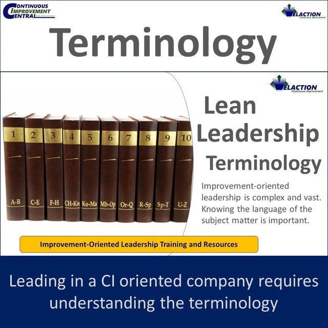 Improvement-Oriented Leadership Terminology
