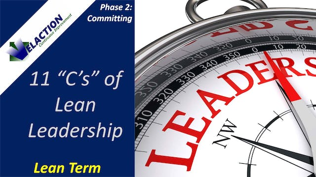11 Cs of Lean Leadership