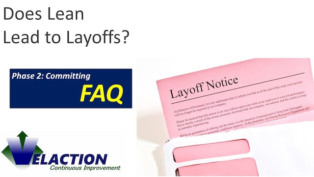 Does Lean Lead to Layoffs?