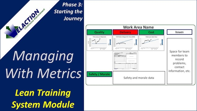 Managing with Metrics (Training Module Video)
