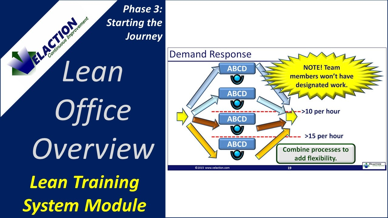 Lean Office Overview (Training Module Video)